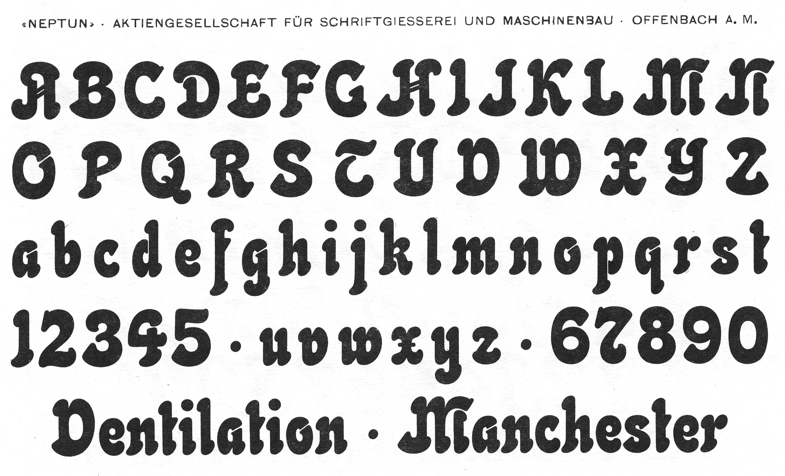 Foundries from the 19th century for Maschinenbau offenbach