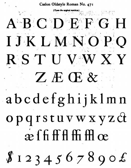 Baskerville Original Pro Font Download  Fonts