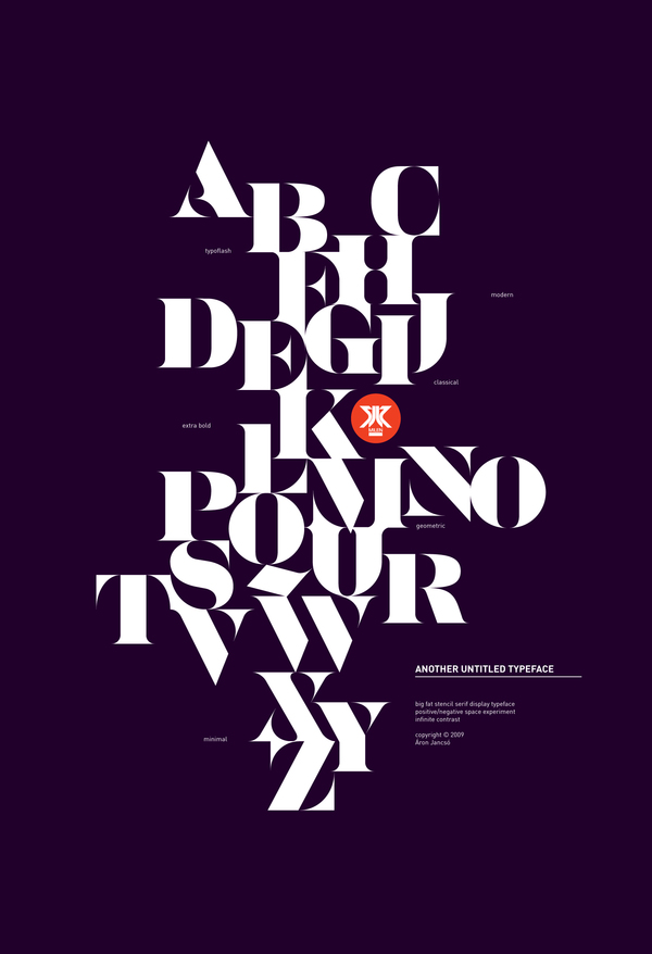 Typographic Poster Examples A B C