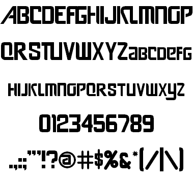 Soccer Typefaces