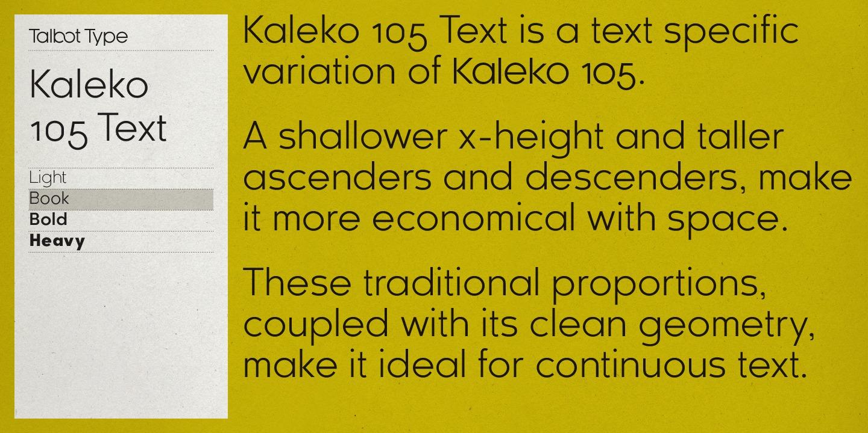 Kessel 105 Book Font