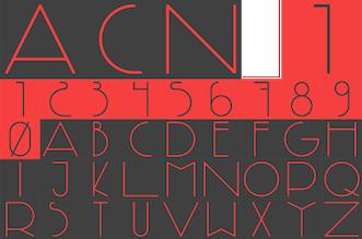 980a6a709 Avant-garde typefaces