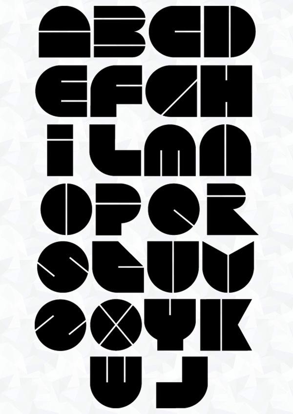 Connu Pop art typefaces LE92