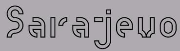 buy popular e3e77 f7584 The Due Collective of Alessio Pompadura and Massimiliano Vitti, both based  in Perugia, Italy, co-designed the grid-based stencil typeface Nodo in 2017.