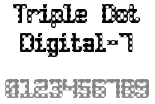 Modern Dot Digital-7 Enhanced Dot Digital 7