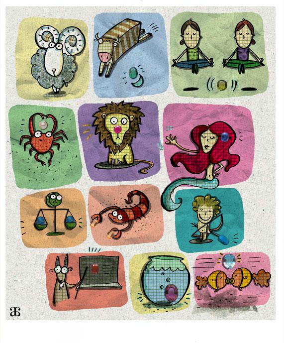 Zodiac poster.