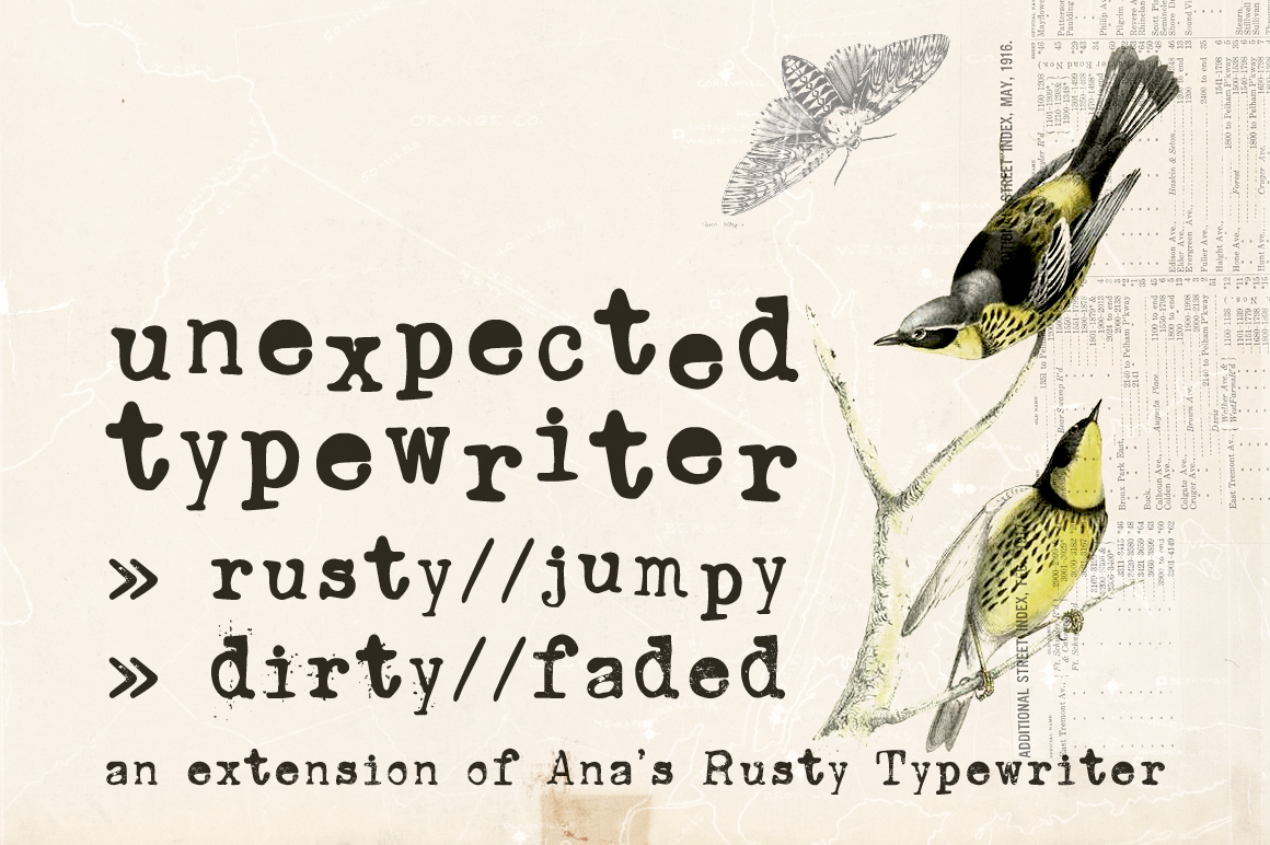 Ana's Fonts