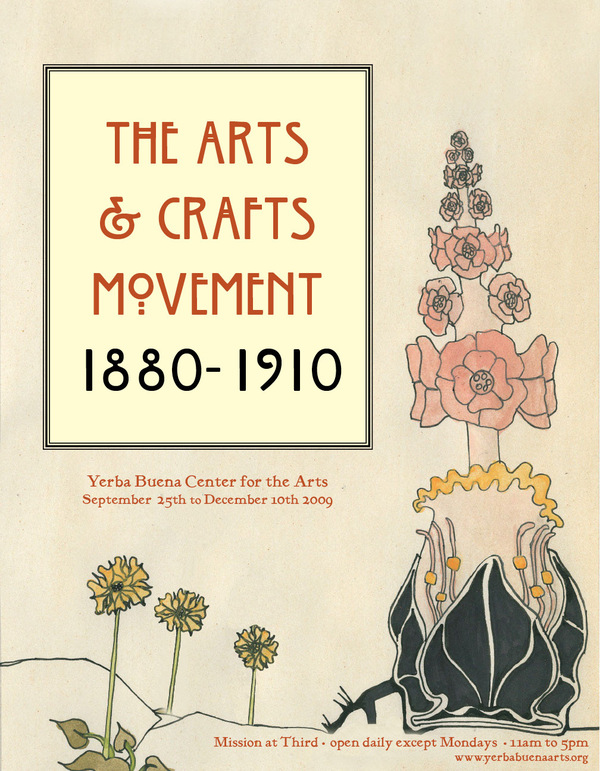 Fonts 54657 on arts and crafts movement