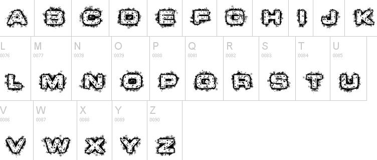 Hacker fonts
