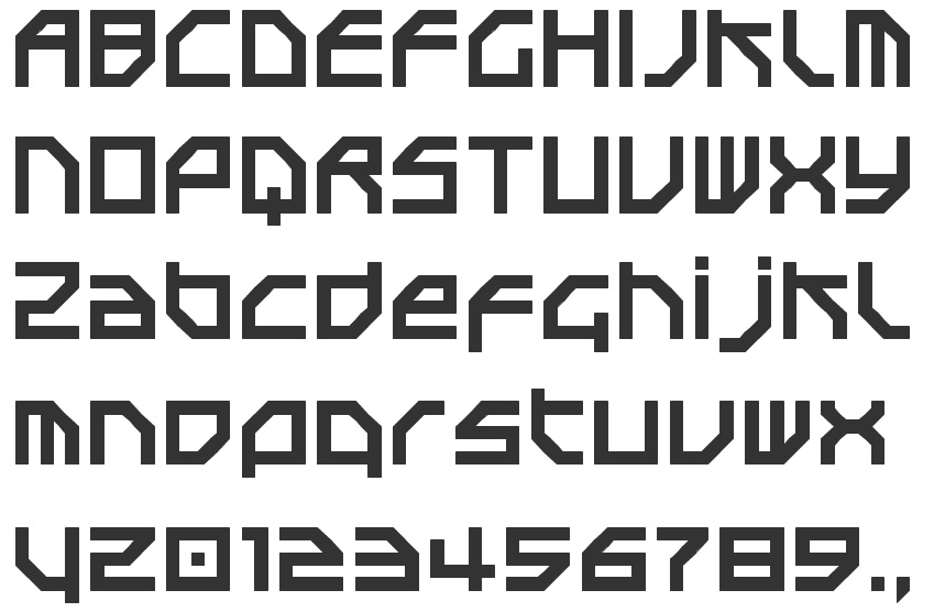 Morse fonts