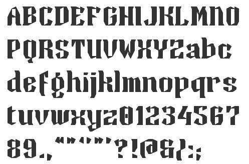 Blackletter Zaturdaynote EYe FS 2014 Dot Matrix Font Zaved EYeFS 2012 Zaxet Western Zayre Zaza 2011