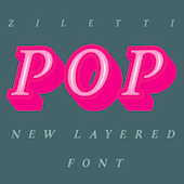 Psychedelic typefaces