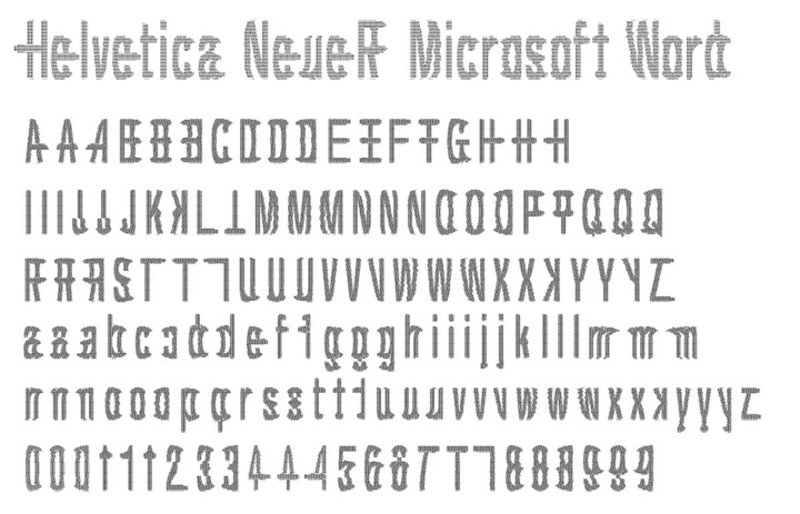 how to get helvetica font in word