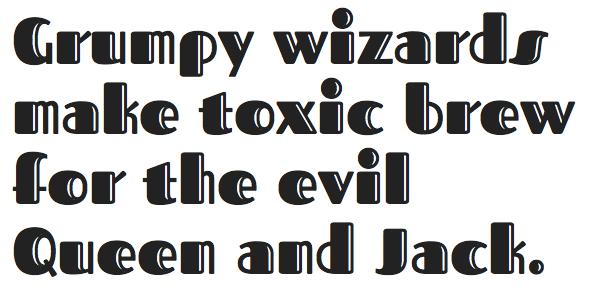 Hawaiian fonts