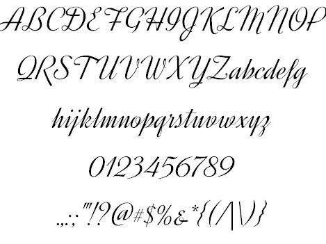 Free fonts: original designs!