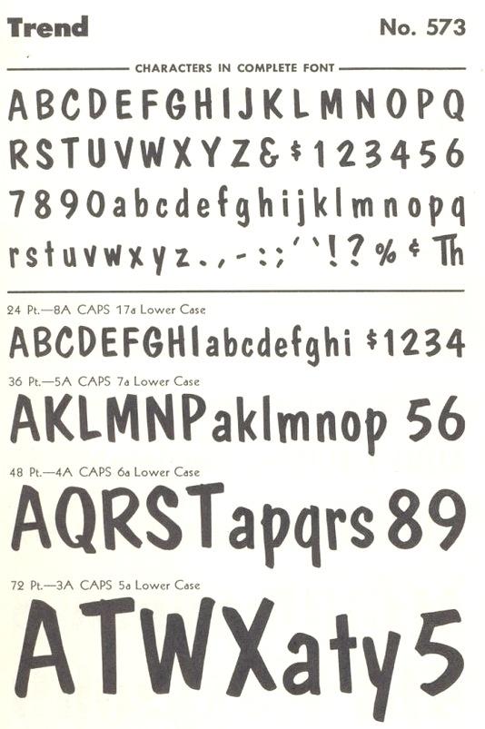 Baltimore Type Foundry (or: Baltotype)