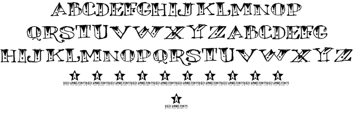 WANNABEME sketched WEDDINGNIGHTMAREStrial calligraphic BEERNOTE