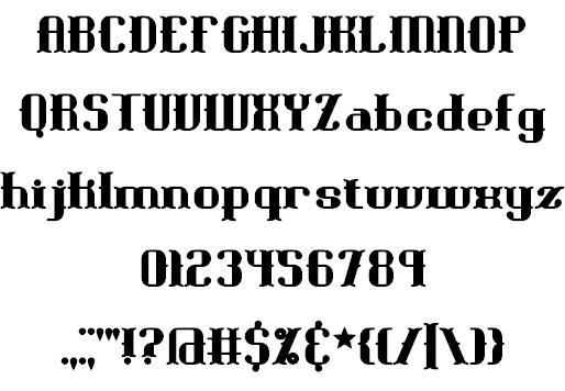 Free fonts: original designs!