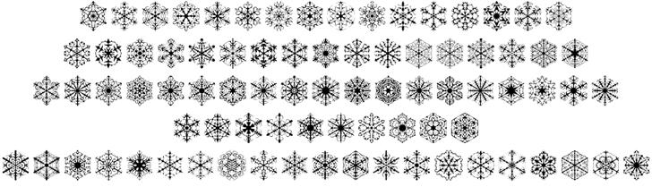 KR Snowflake 2 Font