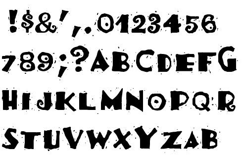 latin style font - photo #5