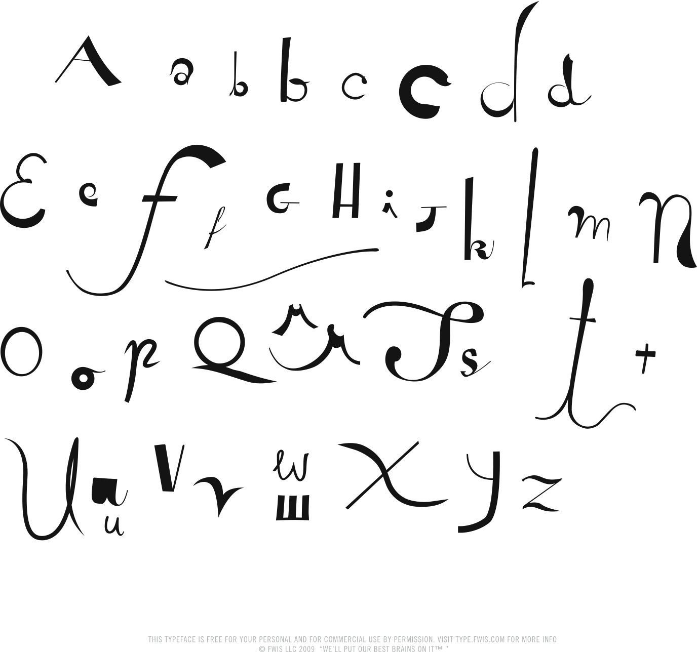 26] designer of the organic typeface Steam, the hand-drawn typeface ...