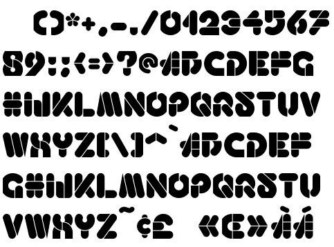 After A Font Found On Page 10 Of Art Deco Display Alphabets 100 Complete Fonts By Dan X Solo