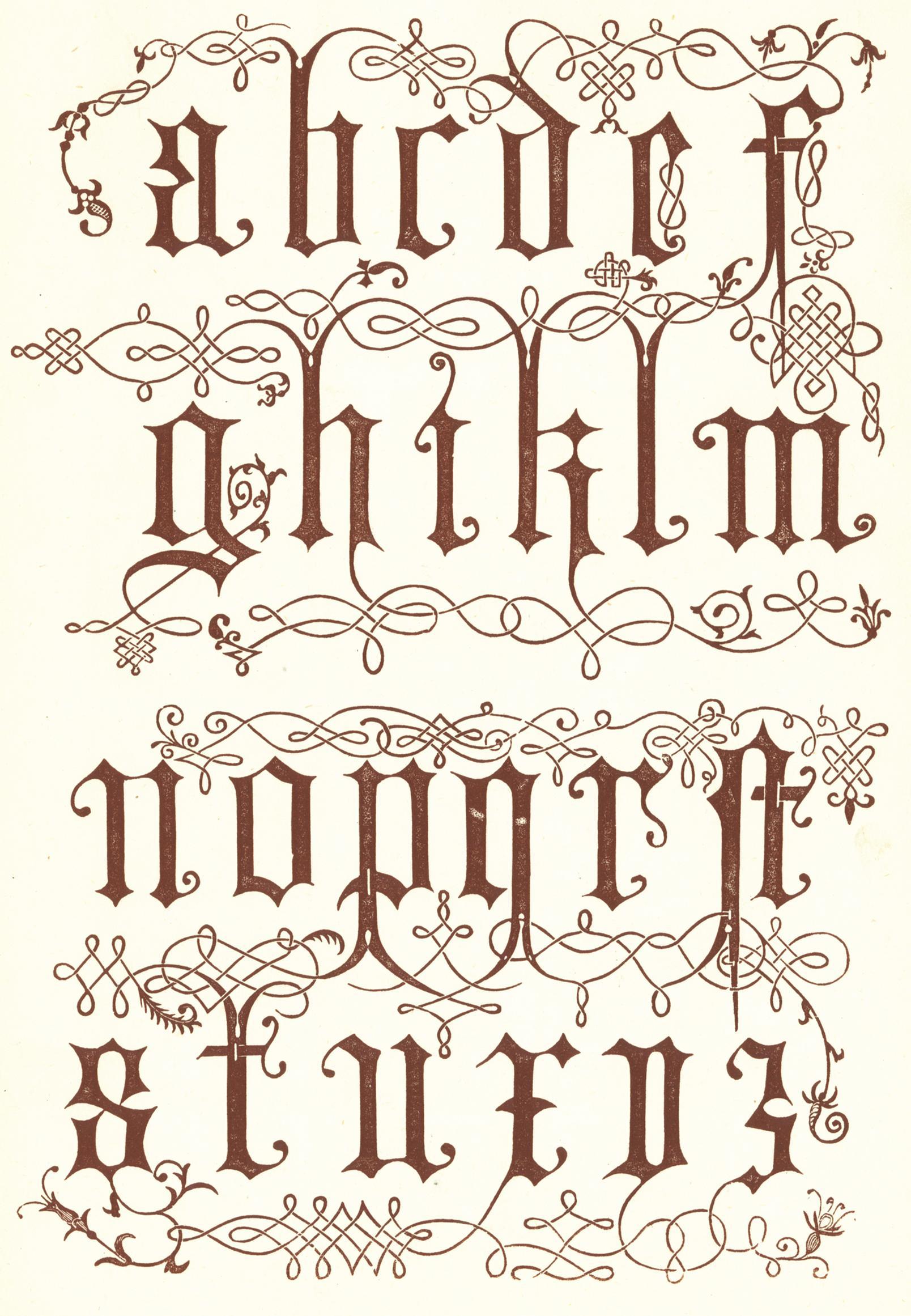 Tipos De Letras Cursivas - es.pinterest.com