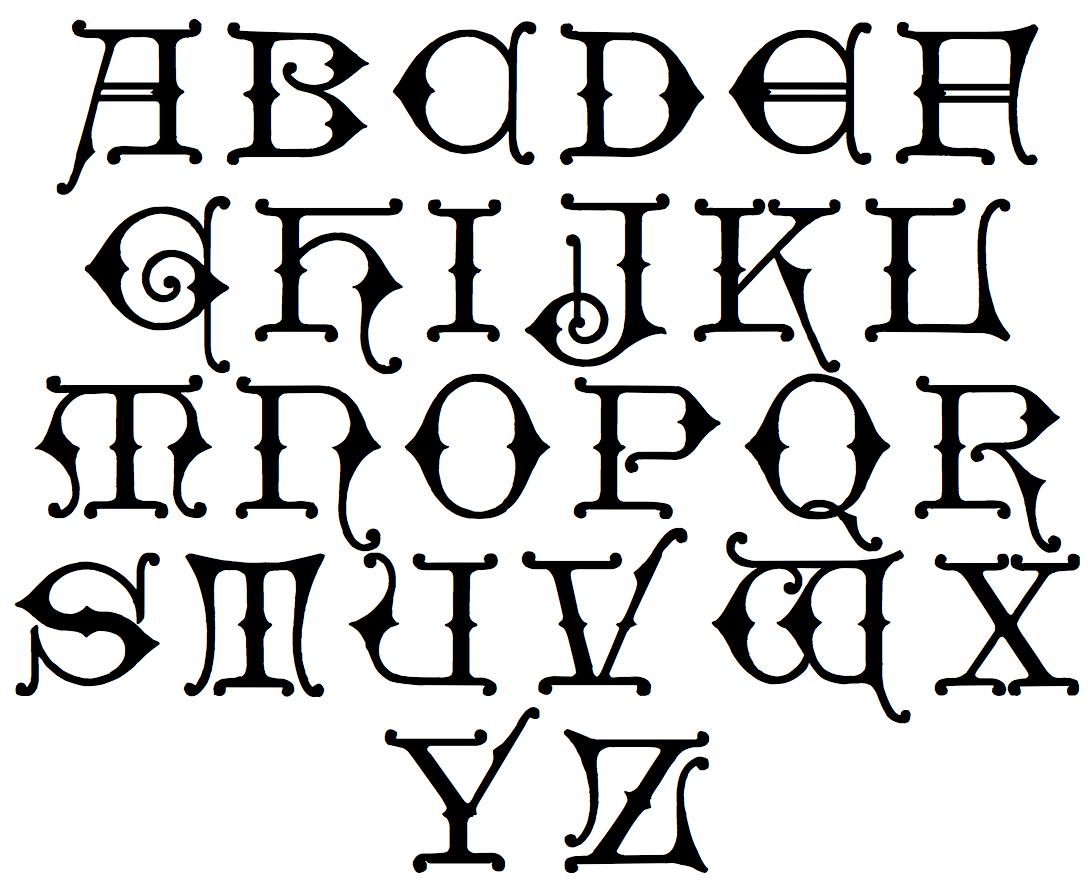 Gothic Alphabet Related Keywords Gothic Alphabet Long