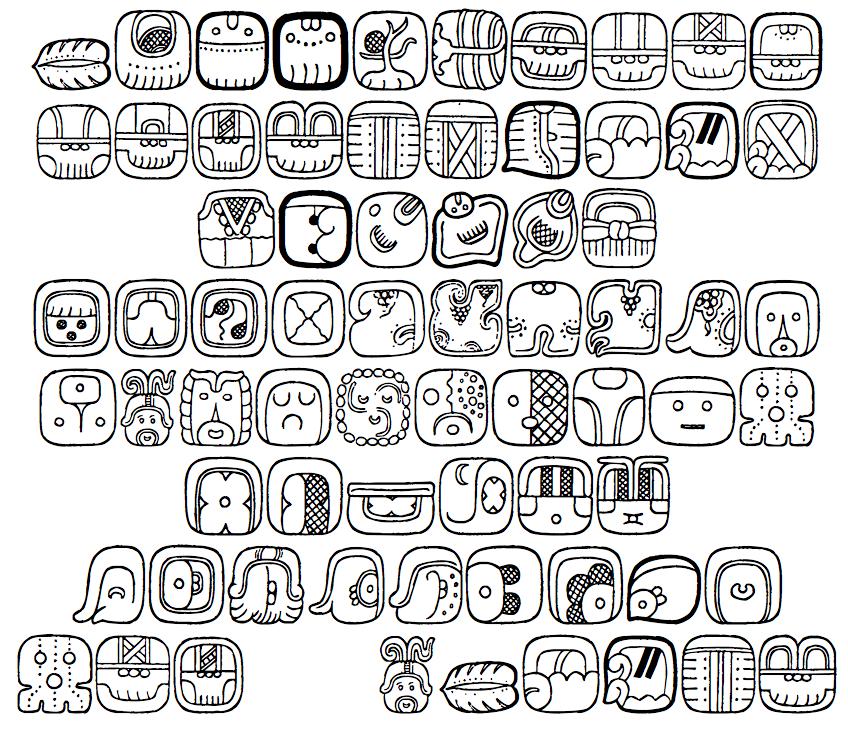 Dick Pape Mayan Signs