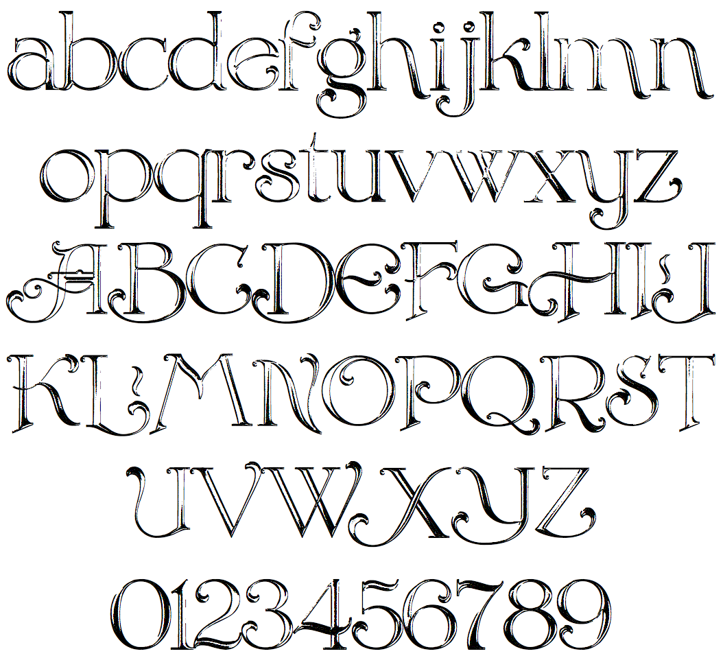in 2010 dick pape designed the decorative font - Decorative Fonts