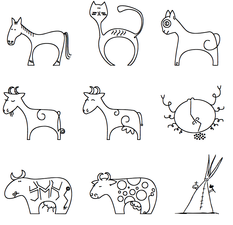 The gallery for --> Cute Doodle Art Designs