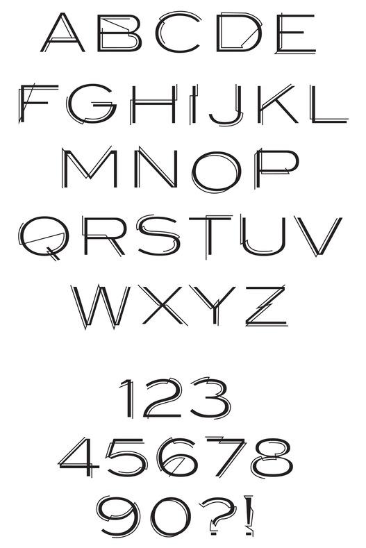 Rune simulation fonts