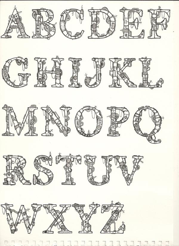 Different Alphabet Font Styles Model 12 x3cbx3ealphabet font styles ...