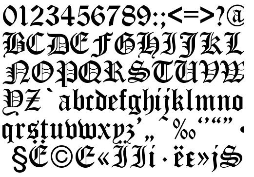 Cyrillic fonts free Download mac