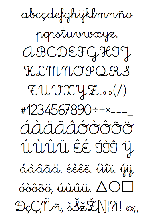 School Fonts Dafont School Fonts of The