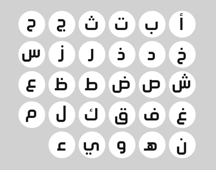 Type design in Saudi Arabia