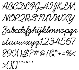 Different Lettering Styles A Z