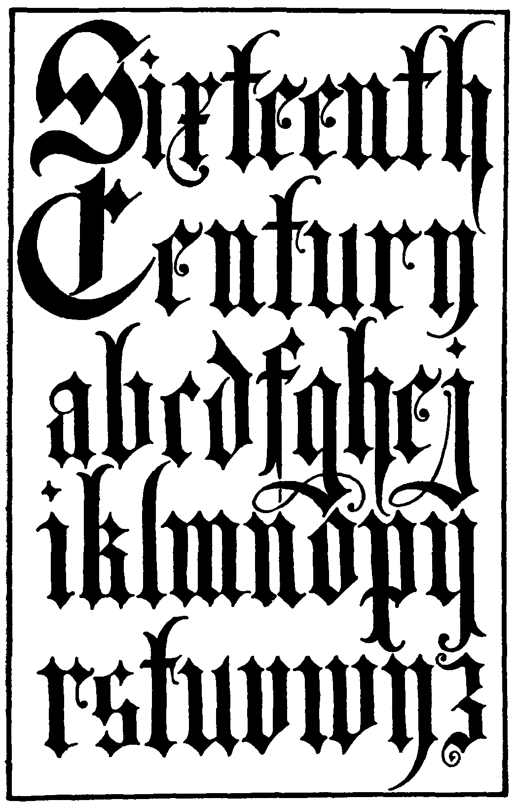 File Name Frank Chouteau Brown 15th Century English Gothic Blackletter
