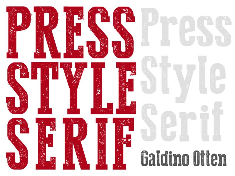 File name galdino otten press style serif 2013b