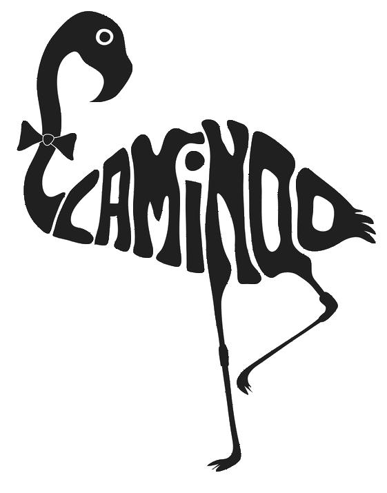 Line Art Typography : Flamingo stencil outline imgkid the image kid