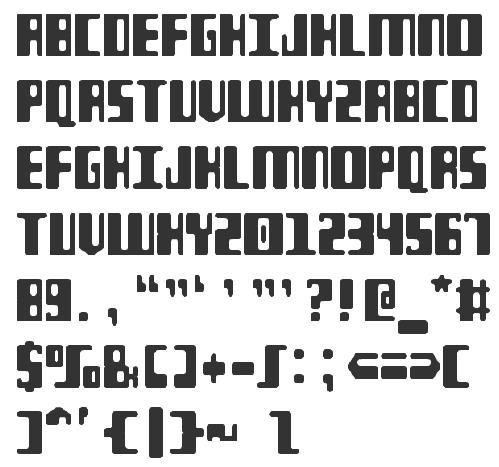 MICR fonts