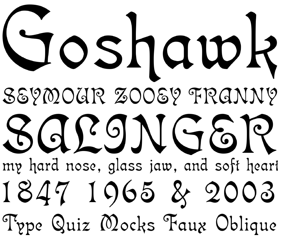 The Gallery For Calligraphy Fonts A Z