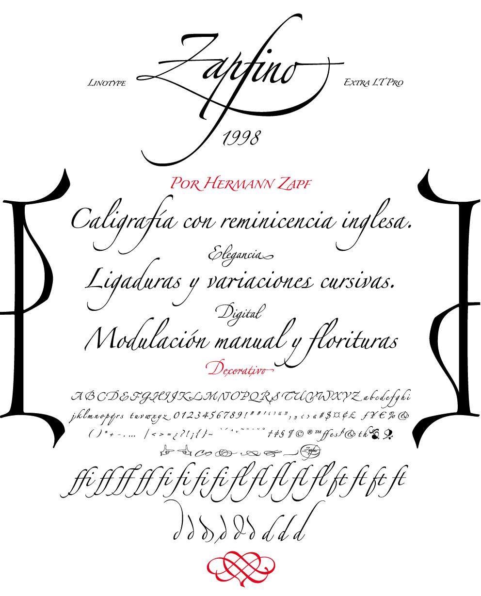 Comments On Linotype Zapfino