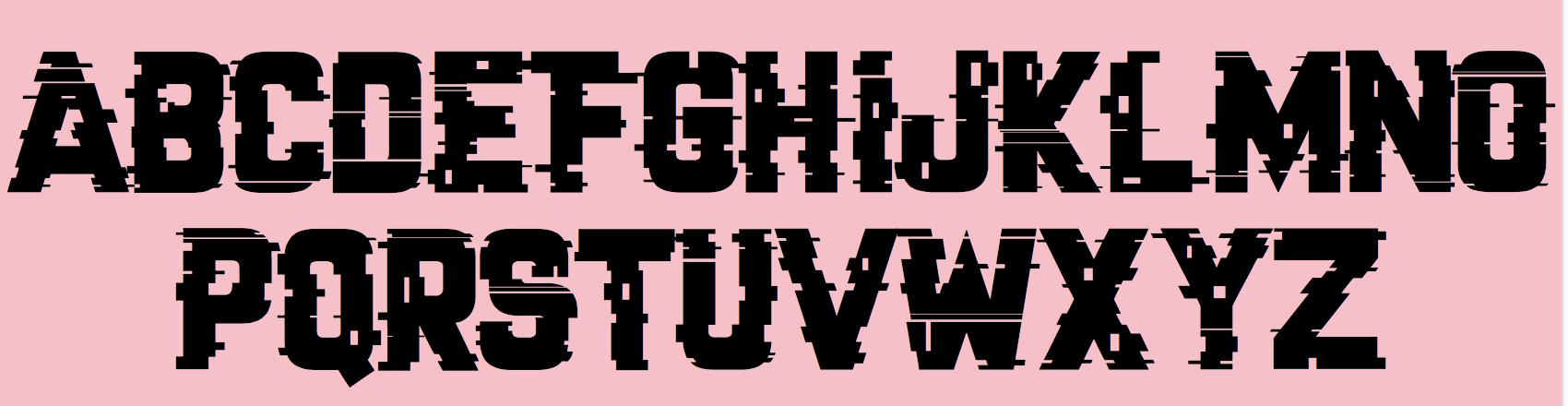 Graphik Black Font On Silver - sevenval