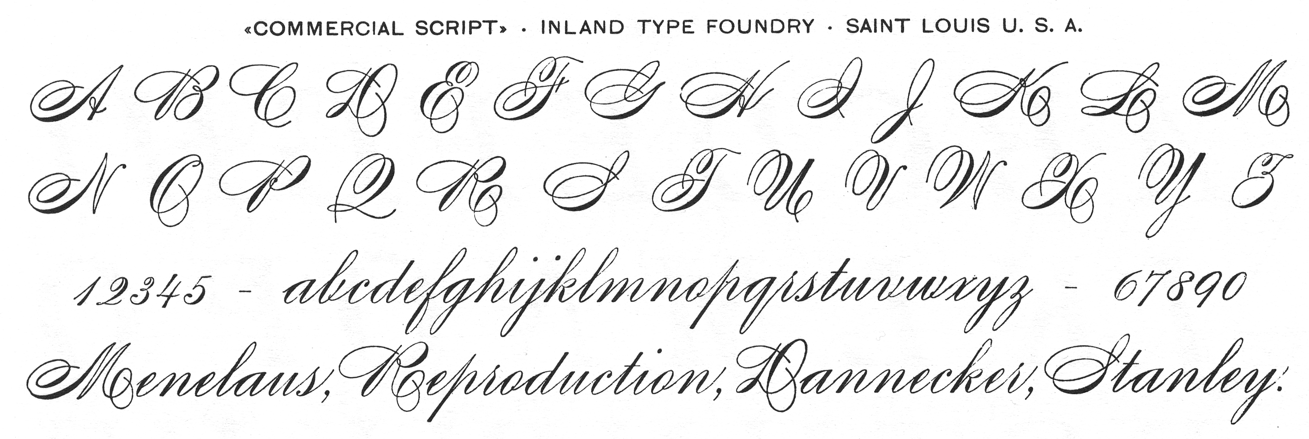Earliest examples of scripts reproduced in type | Typophile