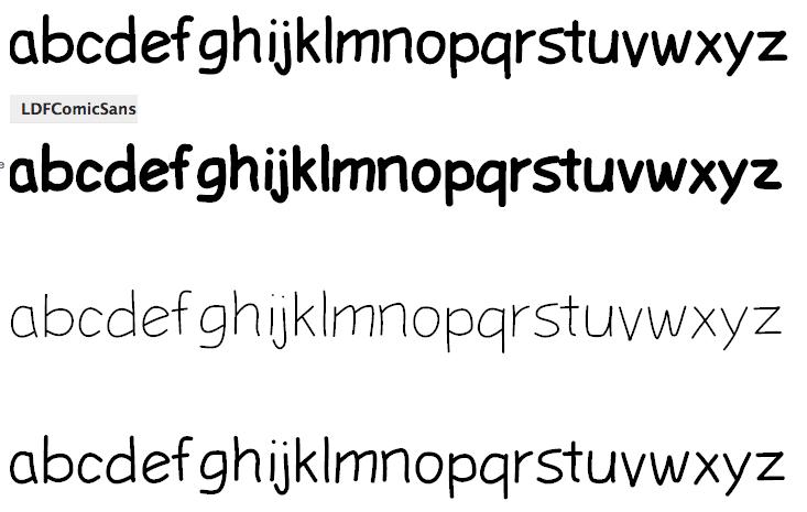 Luedecke Design Font Co Was Ldf Fonts