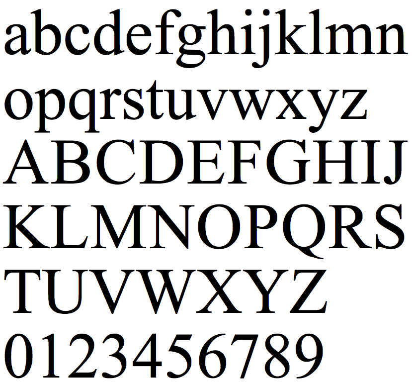 Mac Fonts Greek Letters