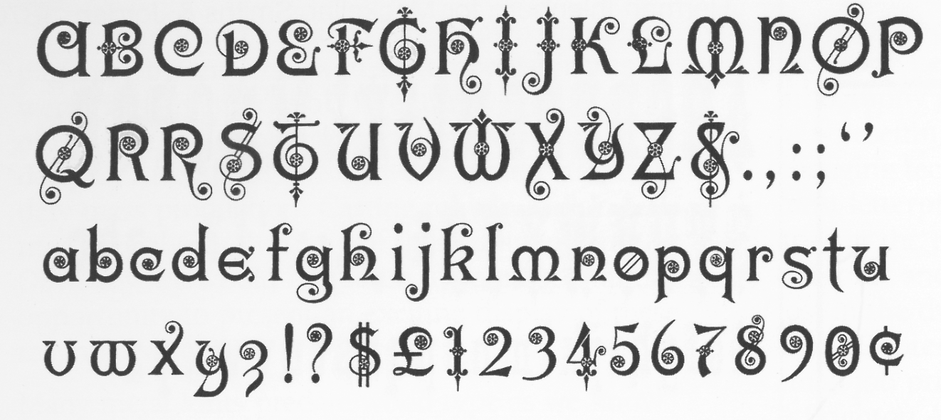Gothic Alphabet Gothic And Alphabet On Pinterest
