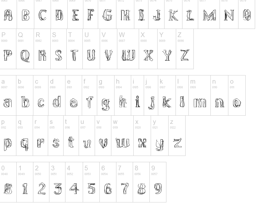 Kral Typefaces