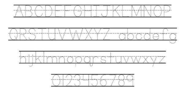 School Fonts Dafont Dots School Font